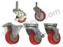 Bánh xe đẩy nhựa PU được ứng dụng trên nhiều loại xe đẩy khác nhau
