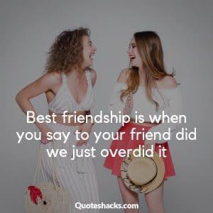những câu nói hay về tình bạn hài hước