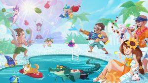 Trang phục lmht: Tiệc bể bơi vui nhộn