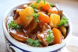Cách nấu bò sốt vang khoai tây ngon nhất