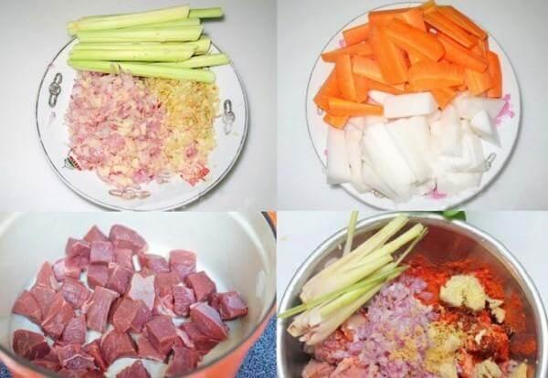 Cách nấu bò sốt vang khoai tây ngon mềm