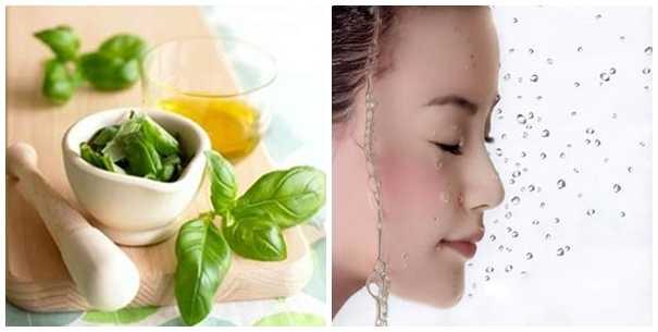 Chăm sóc da mặt bằng các nguyên liệu từ thiên nhiên