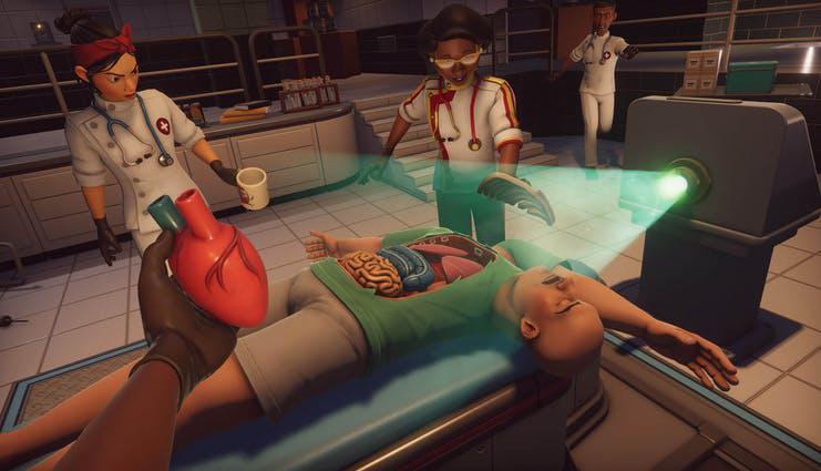 Surgeon Simulator 2 v1.0.0.2801 Trực tuyến Nhiều người chơi 3