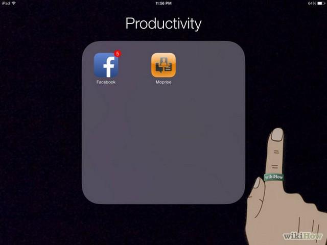 Hướng dẫn tạo thư mục bằng ứng dụng trên iOS