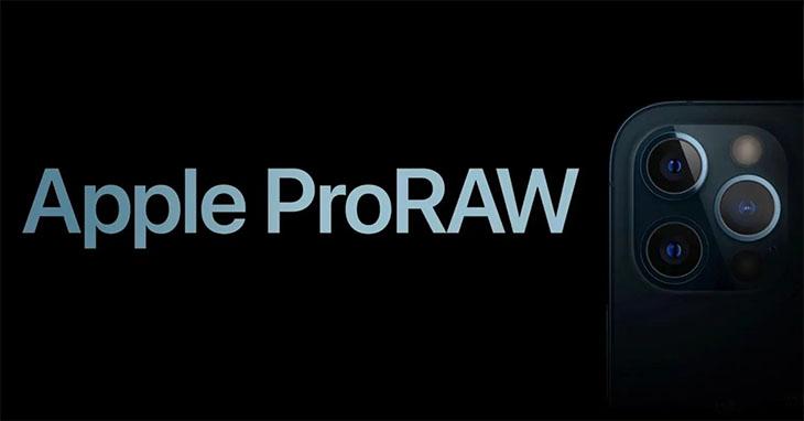 Định dạng Apple ProRAW