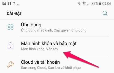 Cách cài đặt vân tay trên Samsung J7 Pro để sử dụng thiết bị, ứng dụng ...