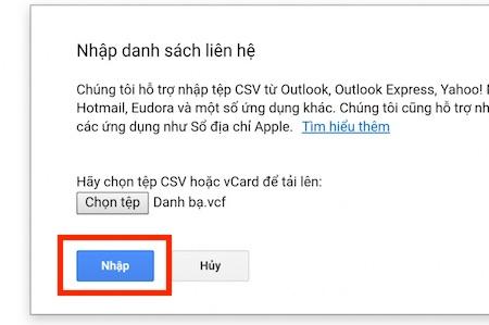 Cách đồng bộ danh bạ với Google trên Android