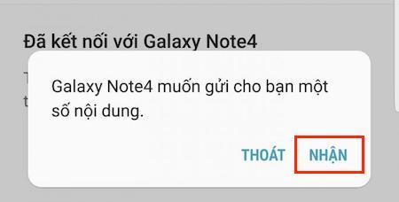 Chuyển dữ liệu từ Android sang Samsung
