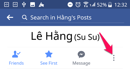 Như bạn có thể thấy người yêu mà bạn bình luận trên ảnh của những người trên Facebook