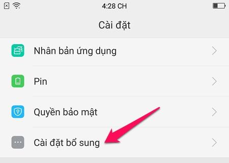 Để điện thoại thông minh của bạn đọc toàn bộ văn bản, bao gồm cả tiếng Việt