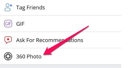 Facebook cho phép bạn chụp ảnh 360 độ, chia sẻ hoặc đặt ảnh bìa