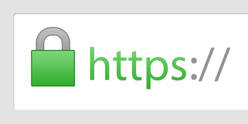Liên kết giao thức HTTPS bắt đầu bằng khóa móc