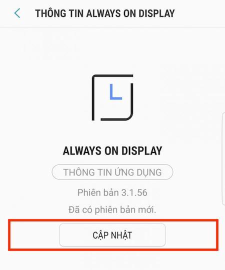 Hướng dẫn cài đặt ảnh động trên màn hình chờ Always On Display