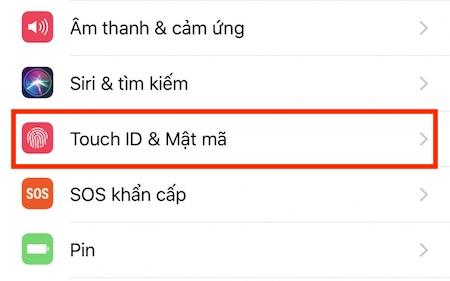 Hướng dẫn cách sử dụng dấu vân tay để tải ứng dụng trên iPhone