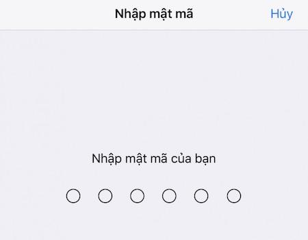 Hướng dẫn sử dụng vân tay để tải ứng dụng trên iPhone