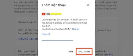 Hướng dẫn thêm số điện thoại vào Tài khoản Google của bạn rất đơn giản