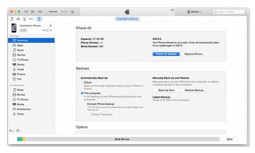 Lưu tệp và giải nén nó.  Mở iTunes, giữ phím Shift (Windows) hoặc Option (Mac) và nhấp vào