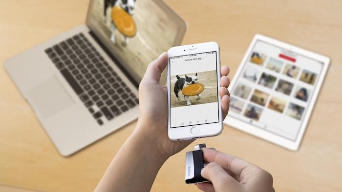 Mở rộng bộ nhớ trên iPhone và iPad thật dễ dàng với SanDisk iXpand