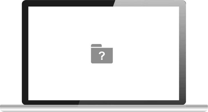 Dấu chấm hỏi được hiển thị trong quá trình khởi động
