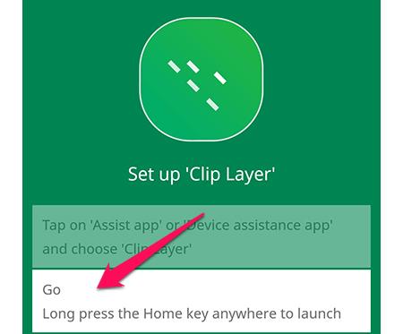 Cài đặt lớp clip